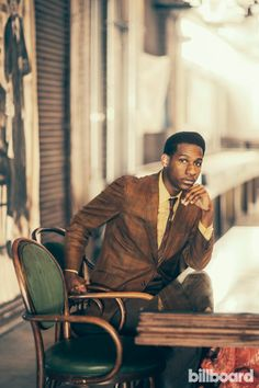 """Leon Bridges - haven't stopped listening to """"Coming Home."""""""