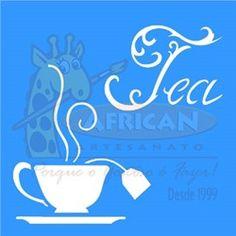 Stencil Tea (Chá) 14x14 - OPA