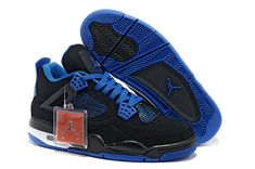 8aaabd8e2b59e2 Buy Spain 2013 New Nike Air Jordan 4 Iv Mens Shoes Black Blue Big Discount  Byydk from Reliable Spain 2013 New Nike Air Jordan 4 Iv Mens Shoes Black  Blue Big ...