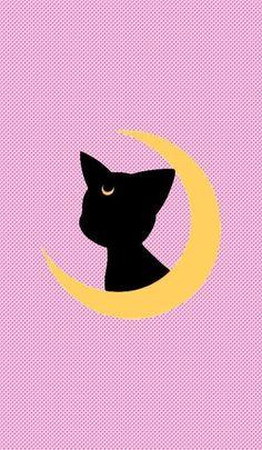 sailor moon wallpaper Backgrounds is part of Sailor Moon Backgrounds Wallpaper Cave - Sailor Moon Luna Wallpaper Cartoon Wallpaper, Kawaii Wallpaper, Trendy Wallpaper, Luna Sailor Moon, Sailor Moons, Luna Moon, Sailor Moon Quotes, Moon Moon, Sailor Venus