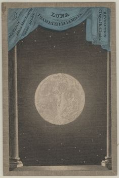 Playing card from the Astronomia card game, published by F.G. Moon, London, 1829
