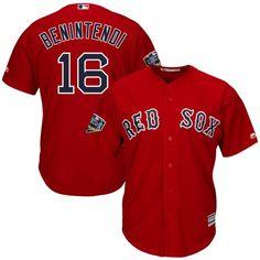 66e8f46c063 Boston Red Sox Andrew Benintendi Boston Red Sox Majestic 2018 World Series  Cool Base Player Jersey