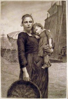 William Lee-Hankey, Mother and Child