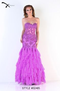 Xtreme Prom 2014 Collection style #32465 #prom #dress #lace