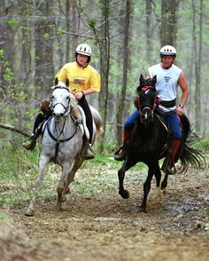 Do you love hitting the trails with your horse? While many equestrian competitions take place within an arena, competitive trail riding brings the competition into the wilderness. Regardless of your horse's breed or age, chances are there's a competitive trail riding event in which you and he could compete – with a little preparation, of course.