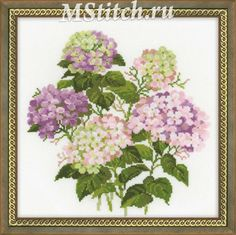 hydrangea cross stitch: 13 тыс изображений найдено в Яндекс.Картинках