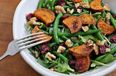 Sweet Potato and Green Bean Salad -- and 29 other Superfood Receipes You've Never Tried Before