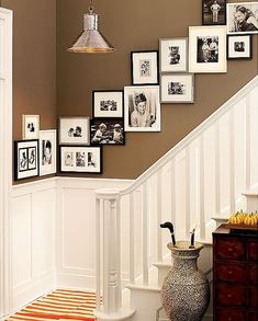 Ideias para pendurar seus quadros de maneira criativa - http://www.dicabacana.com