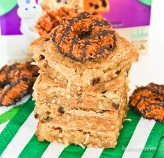 Girl Scout Cookie™ Inspired Pillsbury™ Baking Mixes are now available at…