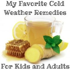 cold weather remedies for children and adults