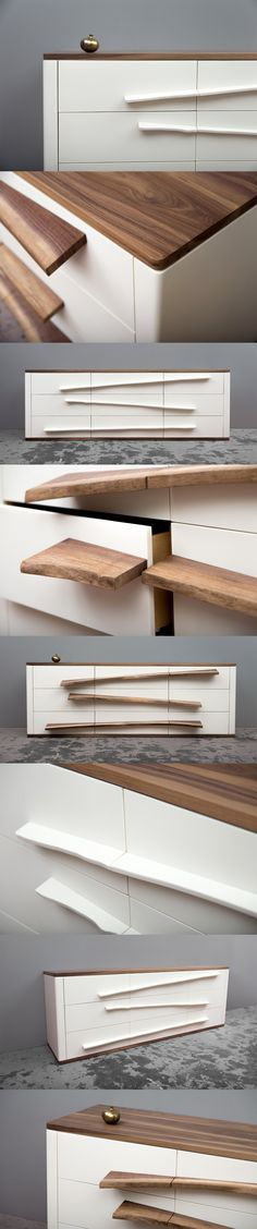Niagara Dresser. The SENTIENT Niagara Dresser is a stunning contemporary white…