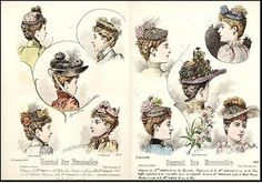 diferentes clases de tocados y sombreros