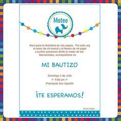 Invitaciones...Bautizo