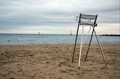 Lifeguard chair Barcelona