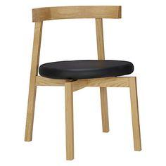Buy Nazanin Kamali for Case Oki-Nami Dining Chair, Oak Online at johnlewis.com