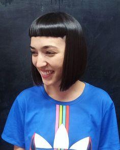 Corte para @chinaelphick por @natafreire y @madison_malena  #bobstdo #bobheadnati #bobheadmalena #haircut #straighthair #hairstyle #haircut #peluquería #lastarria #scl