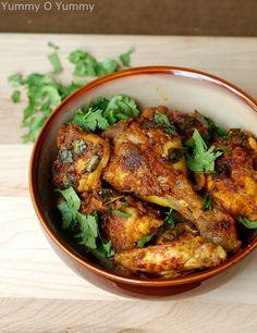 Andhra Chicken Roast / Kodi Iguru