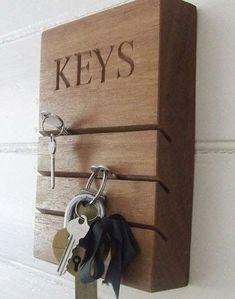 80 φανταστικές ιδέες για κατασκευές οργάνωσης των κλειδιών σας! | Φτιάξτο μόνος σου - Κατασκευές DIY - Do it yourself Handmade Furniture - http://amzn.to/2iwpdj4