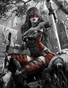 fantasy-women-art Enter your pin description here. Dark Fantasy Art, Fantasy Girl, Chica Fantasy, Fantasy Female Warrior, Fantasy Art Women, Warrior Girl, Fantasy Kunst, Anime Fantasy, Fantasy Artwork