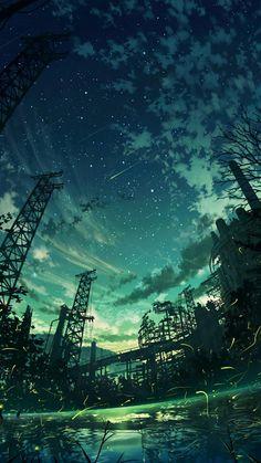 Digital Painting / Concept Art / Landscape / SciFi / Science Fiction / Other Planet / Future / Surreal / Mystic / Fantasy //♥ Fantasy Landscape, Landscape Art, Fantasy Art, Fantasy Dragon, Anime Fantasy, Anime Scenery Wallpaper, Landscape Wallpaper, Anime Backgrounds Wallpapers, Anime Artwork