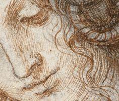 The Art from Siberia • Leonardo da Vinci - Head of Leda Detail
