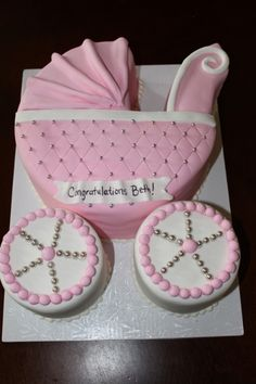 ba shower cakes ba shower carriage cake ideas pertaining to baby shower cake…