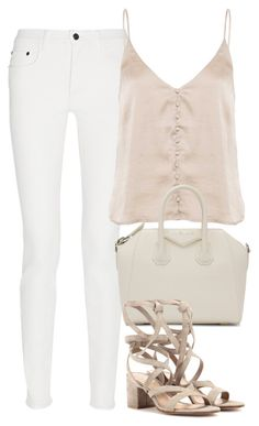 """""""Sin título #3025"""" by charline-cote ❤ liked on Polyvore featuring Proenza Schouler, Givenchy and Gianvito Rossi"""