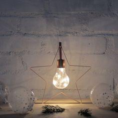 #decoration #christmas #stars #lights #inspiration #decor #christmasdecor Light Bulb, Prince, Christmas Decorations, Marvel, Ceiling Lights, Lighting, Metal, Christmas Stars, Inspiration