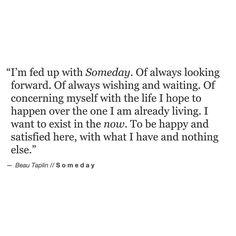 Beau Taplin | Someday