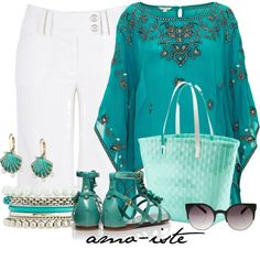 """""""Summertime"""" by amo-iste on Polyvore"""