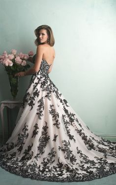 Here's my dress!  That's right.  I'm not traditional but if you know me, you already knew that!  :-)
