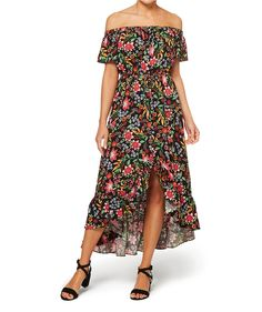 4c729be8b2 The Off Shoulder Midi Dress will be your ultimate dress this season. This  lightweight viscose