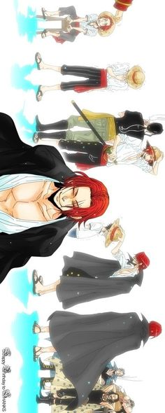 One Piece- Shanks http://www.modishgeek.com/tag/anime/                                                                                                                                                     Mehr
