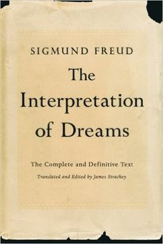 This is the MUST READ Freud book as it spells out his theory in detail and explains the unconscious processes that we see in dreams. - Gordon G. Cappelletty #BearsBooks