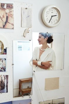 Inside the Tribeca apartment of Daniela Jacobs, the designer behind ARC Objects, the cult favorite ceramic accessories line in bone-colored porcelain. San Francisco Girls, Free People Blog, Fashion Collage, Creative People, Habitats, Still Life, Wall Art Decor, Objects, Instagram