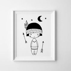 1,2,3 little indians @minilearners #littlelovetrends #print #wallart #decor…