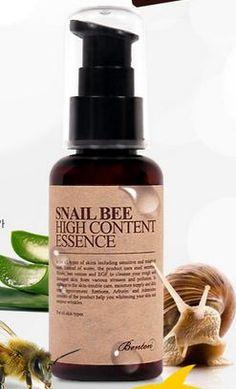 """BENTON Sérum Anti-imperfections """"Snail Bee High Content Essence /Whitening/Remove Wrinkles"""" 60ml chez maBBcrème le spé"""