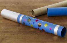 When you make this telescope with your child, have fun watching for birds, planes, and other flying objects.