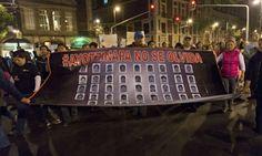 mexico protests #Ayotzinapa