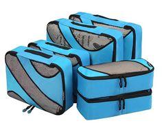 Bagail 6 Set Packing Various Sizes Travel Luggage Packing Organizers 6 Set Packing Various Sizes Travel Luggage Packing Organizers – travel.boutiquecl… - Create Your Own Van Travel Tote, Travel Luggage, Luggage Packing, Cruise Travel, Cruise Tips, Cruise Vacation, Vw Bus, Big Van, Travel Cubes