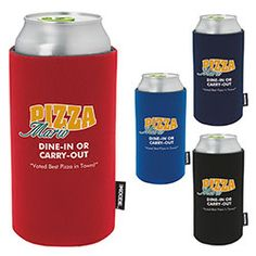 ***This product is being closed out, so it's on SALE! **Supplies are limited.  KOOZIE® Can Kooler FOR TALL CANS. Fits 16 oz. cans Collapsible for easy storage. Great for mailings and giveaways. For more details contact: ww.Fivetwentyfour.ca