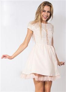 Pink Baby Doll Dress #Dress #Pink #LightPink #Lace #Tool #BabyDollDress #PartyDress #Fun #DayDress #Nightlife #Style #StylishWholesale #Wholesale #Fashion #Party #HolidayDress #Downtown #LosAngeles