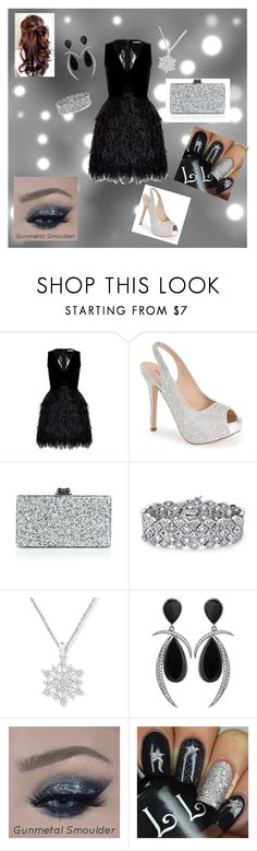 """""""Girls Night Out"""" by smith-1979 ❤ liked on Polyvore featuring beauty, Alice + Olivia, Lauren Lorraine, Edie Parker, Palm Beach Jewelry and Jorge Adeler"""