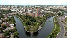 LopanStrelkaKharkov - Kharkiv - Wikipedia Bulgaria, Cincinnati, Morocco Travel, Places To Visit, River, Beautiful, Outdoor, Website, City