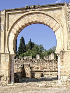 Portal at Medina Azahara ruins in Córdoba - Andalusia, Spain