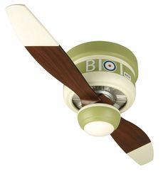 The WarPlanes ceiling fans are a fun and unique way of imagining a bygone era!