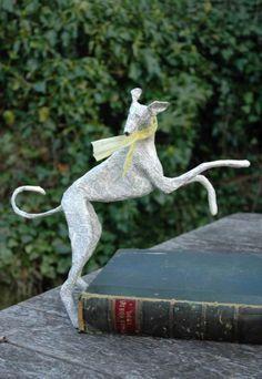Paper Mache Dogs  - By Lorraine Corrigan