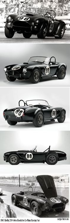 1963 Shelby 289 Cobra Roadster Le Mans Racing Car ✏✏✏✏✏✏✏✏✏✏✏✏✏✏✏✏ AUTRES VEHICULES - OTHER VEHICLES   ☞ https://fr.pinterest.com/barbierjeanf/pin-index-voitures-v%C3%A9hicules/ ══════════════════════  BIJOUX  ☞ https://www.facebook.com/media/set/?set=a.1351591571533839&type=1&l=bb0129771f ✏✏✏✏✏✏✏✏✏✏✏✏✏✏✏✏