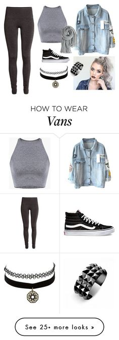 """Sin título #151"" by abigail-15-love on Polyvore featuring H&M, Vans, Charlotte Russe, Calypso St. Barth and Waterford"