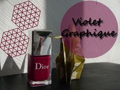 Vernis Violet Graphique 671 Dior